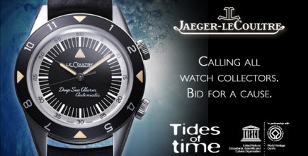 Jaeger-LeCoultre: Tides of the Time & the World Heritage Marine Program