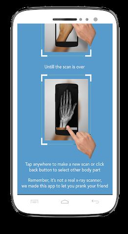 android Xray Scanner Prank Screenshot 2