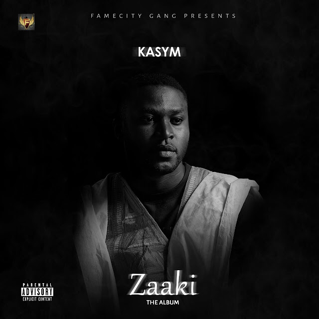 The Official Artwork For #ZAAKI Album Cover By KASYM