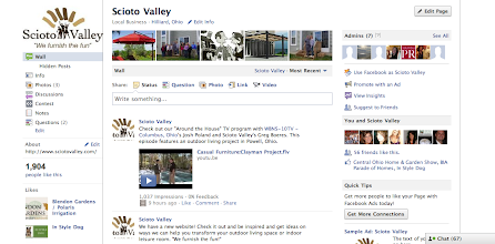 Photo: Manage the Scioto Valley Facebook Page for Dispatch Digital. In one month assisted with adding over 1,000 likes & daily page interaction.
