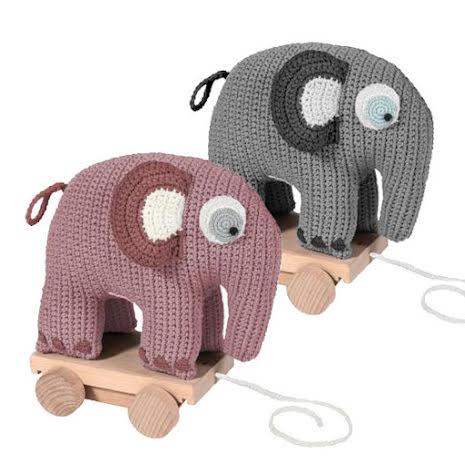 Virkat rulldjur, elefant