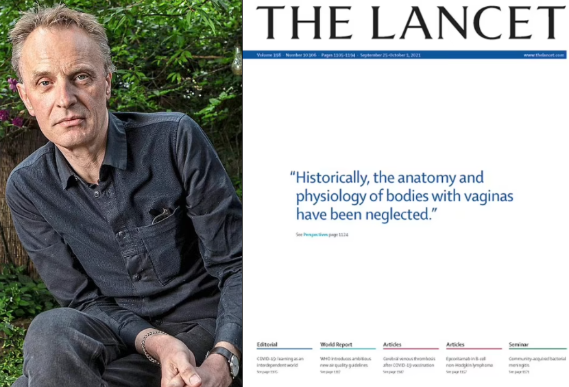 Lancet editor apologises for calling women 'bodies with vaginas' on medical journal's cover