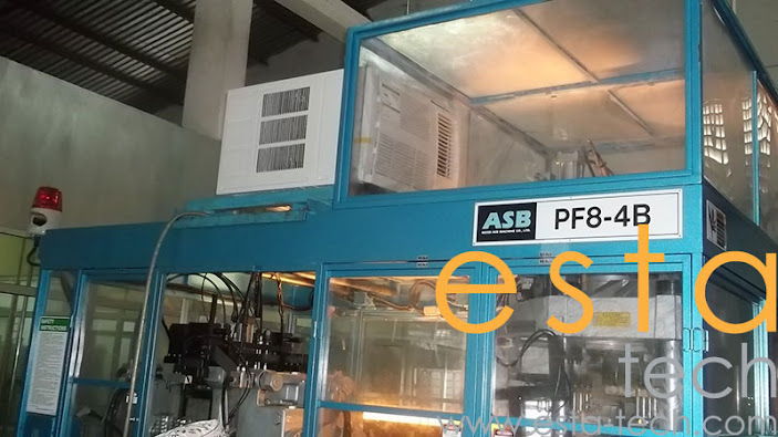 Nissei PF8-4B (2008) Stretch Blow Moulding Machine