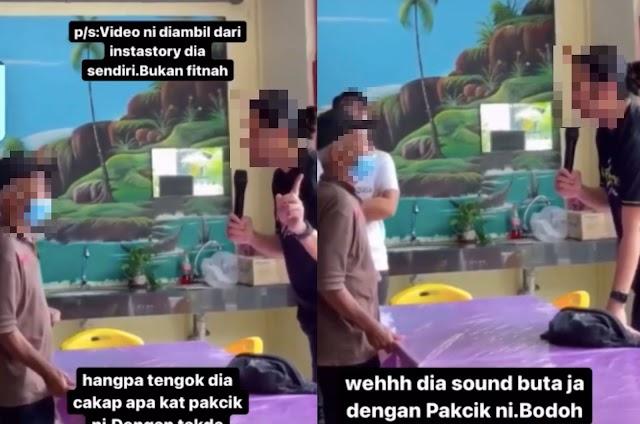 'Masa Muda Dulu Menyesal Tak?' – Video Lelaki Biadap, Malukan Warga Emas Bikin Netizen Bengang