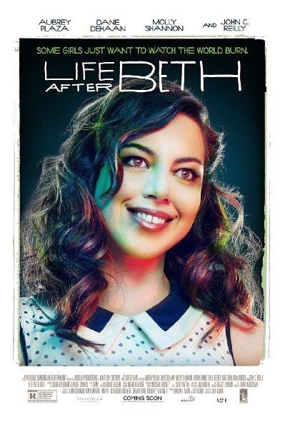 Poster Of English Movie Life After Beth (2014) Free Download Full New Hollywood Movie Watch Online At alldownloads4u.com