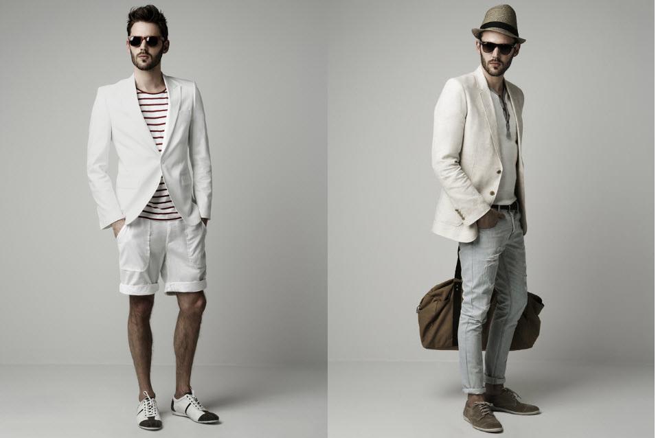 Se puede vestir de una forma informal sin perder la elegancia, como lo demuestra este atuendo. Nos muestra un chaleco blanco manga larga el cual le da la