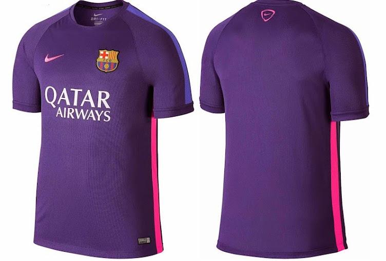 official photos d98a1 e897b Nike Man Utd & Barcelona 2015 Training Pre-Match Kits Released