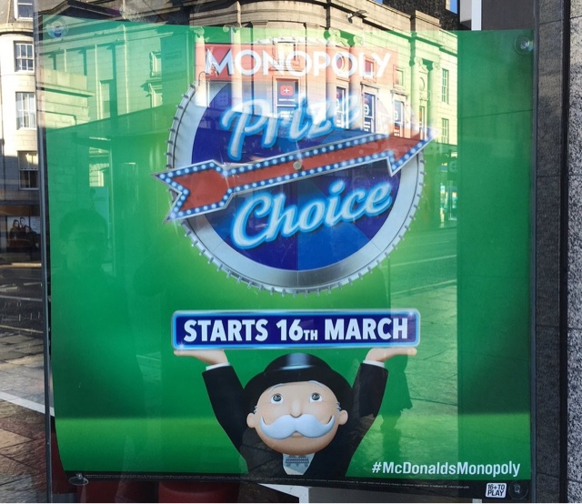 McDonald's Monopoly 2016