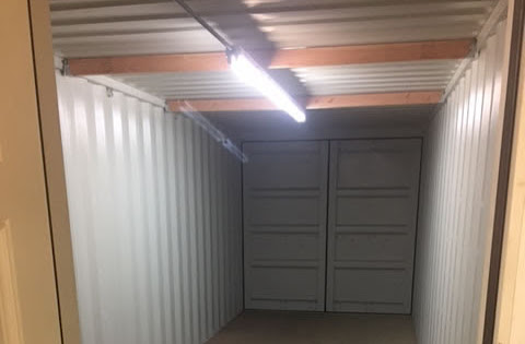 PMF Rentals 40' Ground Level COMBO office units