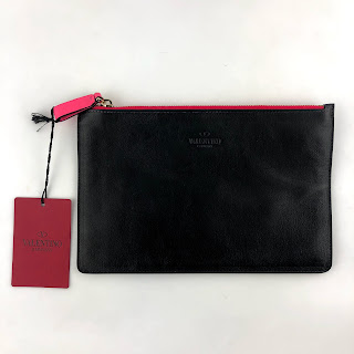 Valentino Medium Black Pouch