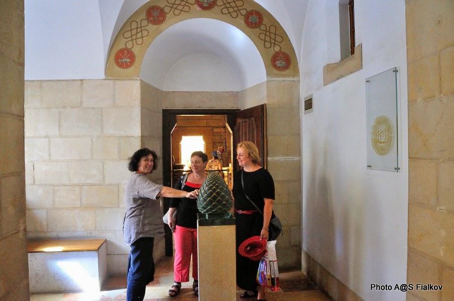 Аббатство Дормицион. Экскурсия по Иерусалиму. Гид в Израиле Светлана Фиалкова.