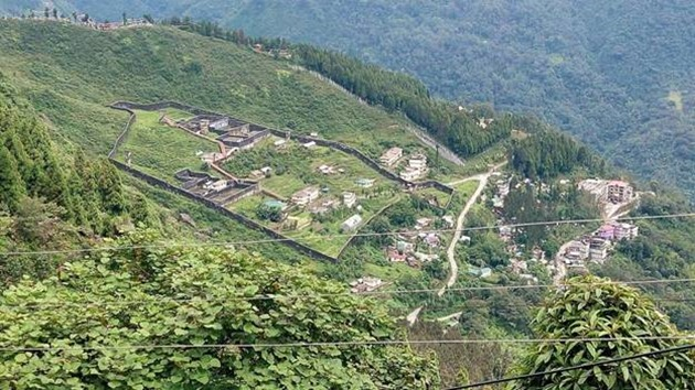 Gangtok green landscapes