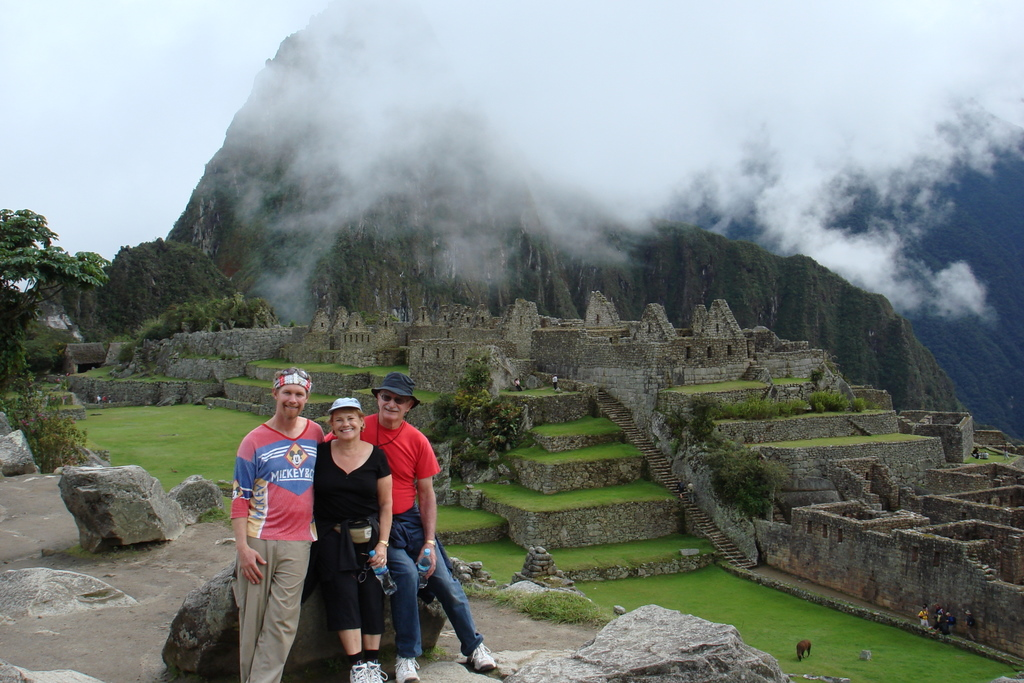 "Machu Picchu - ""What an incredible sight - it's a new Wonder of the World"""