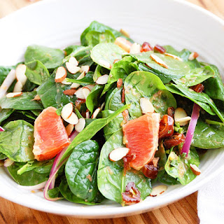 Blood Orange and Spinach Salad with Citrus Dressing