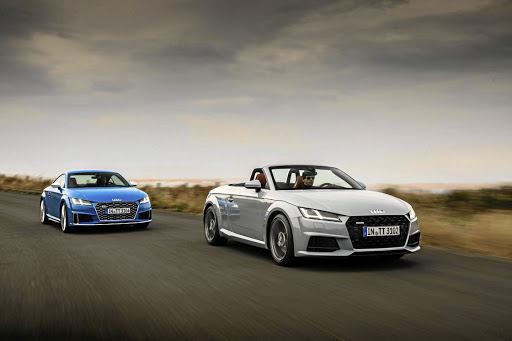 Audi will introduce minor updates to its TT range early in 2019. Picture: NEWSPRESS UK