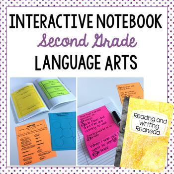 ELA interactive notebook cover