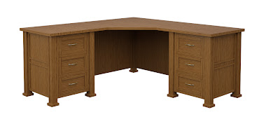 Hagen L-Shaped Desk
