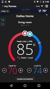 iComfort Thermostat - náhled