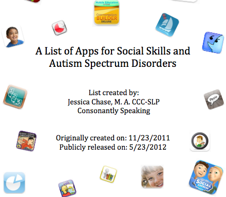 Social Skills and Autism Spectrum Disorders App List image