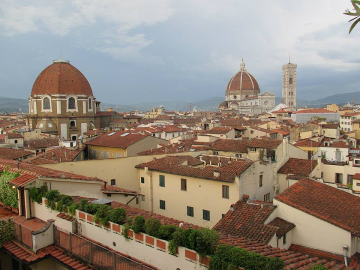 a rooftop view of Florence I took on my first night abroad. #StudyAbroadBecause... the experience changes you in the most unexpected and amazing ways.