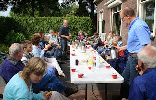 Sport Veredelt Oldebroek op bezoek bij Pels en Pluim Laren Gld. 21-06-2014