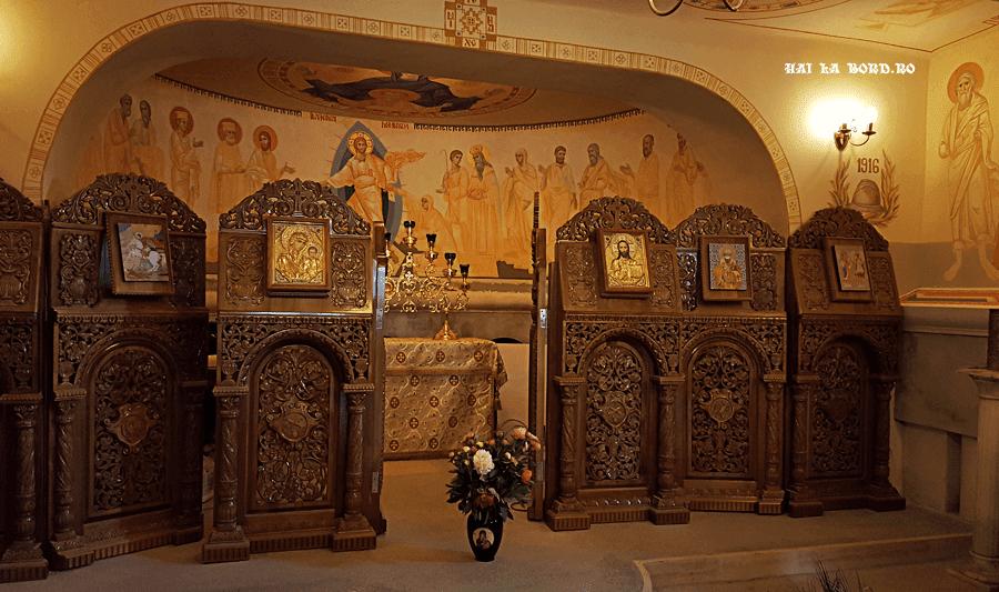 mausoleu manastirea comana