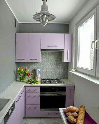 inspirasi dapur sempit minimalis