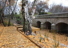 Puente de Piedra o de la Mina, en Bustarviejo