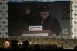 Photo: Friday - Game of Thrones panel; creator/moderator George R. R. Martin