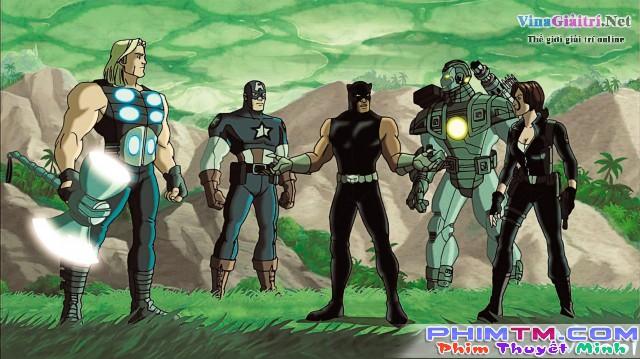 Xem Phim Trận Chiến Cuối Cùng 2: Báo Đen Trỗi Dậy - Ultimate Avengers Ii: Rise Of The Panther - phimtm.com - Ảnh 1