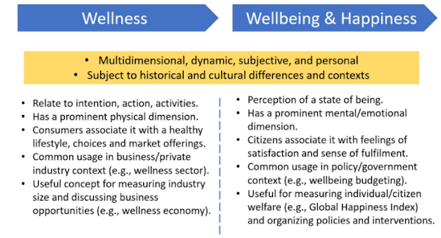 wellness and wellbeing