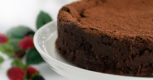 Gluten-Free Goddess Recipes: Karina's Chocolate Truffle Cake