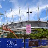 Vancouver Stadium BC PLACE in Vancouver, British Columbia, Canada