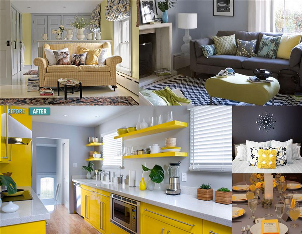 For My Sewing Computer Room I Am Thinking Of Gray And Yellow After Doing A Quick Google Search It Seems Like Is All The Rage 2017