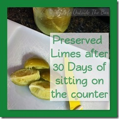 Preserved Limes 30 Days