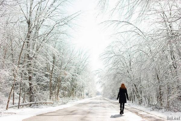 thơ mùa đông 1 mình