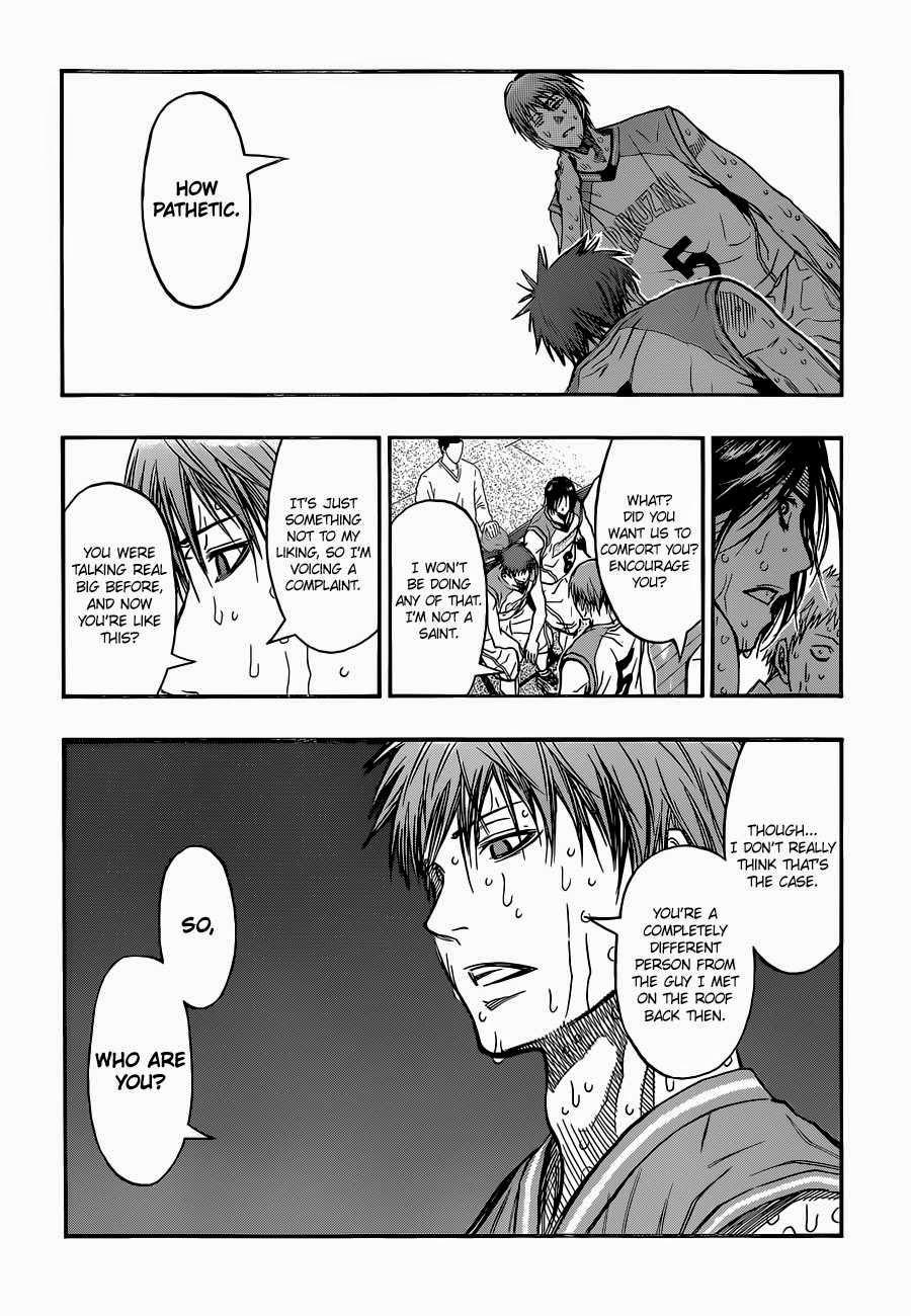 Kuroko no Basket Manga Chapter 266 - Image 04
