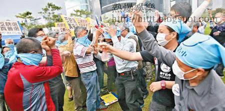 黎智英曾指派壹傳媒高層向台獨人士取經,再協助佔中訓練示威者。(資料圖片)