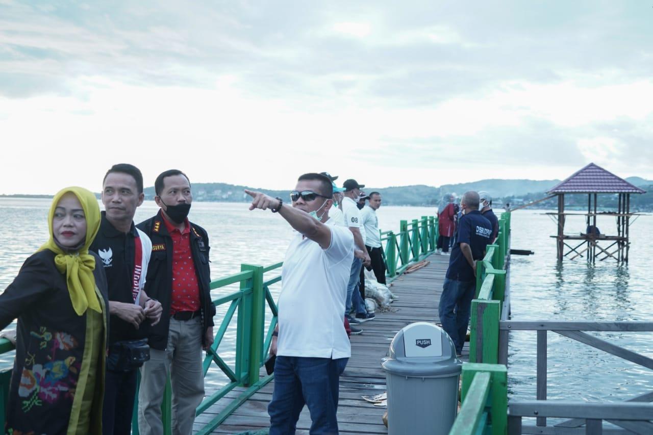 Takjub Keindahan Pantai Dato Kajati Sulbar Saya Akan Ajak Teman Berinvestasi Di Majene Masalembo