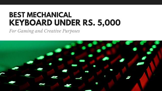 best mechanical keyboard under 5000