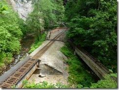 Railway and Stock Creek at the Tunnel