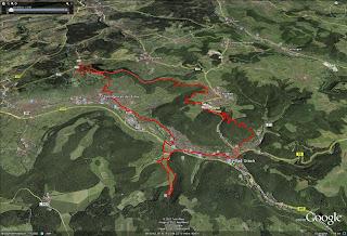 14.8.11 Bad Urach Trailfeuerwerk Teil1