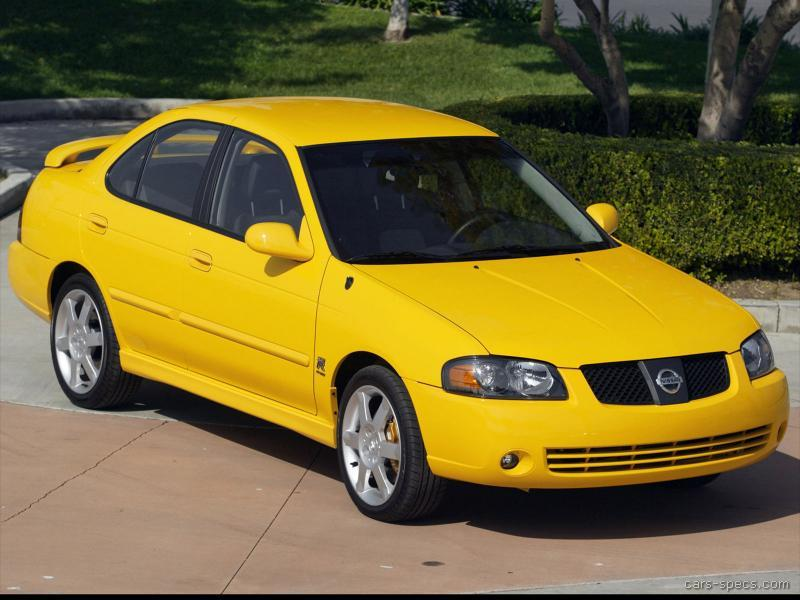 2005 nissan sentra se r spec v specifications pictures prices. Black Bedroom Furniture Sets. Home Design Ideas