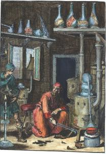 From Pyrotechnia Ofte Vuur Stook Kunde Amsterdam 1687, Alchemical And Hermetic Emblems 1