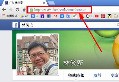 Facebook網址怎麼看?