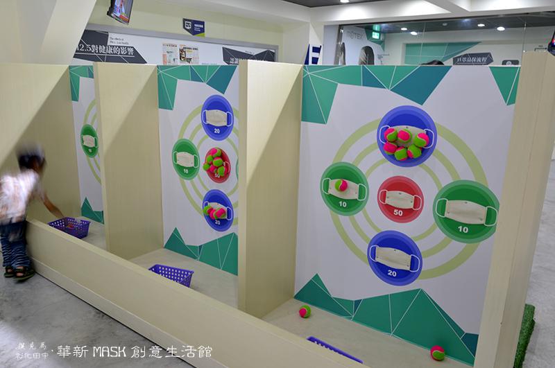 華新MASK創意生活館互動遊戲