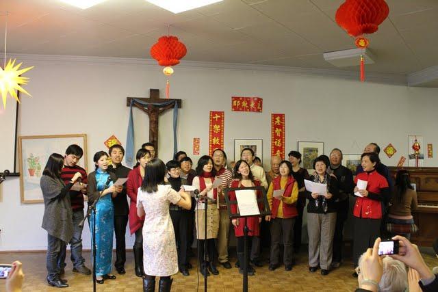 2011 年新春特别聚会