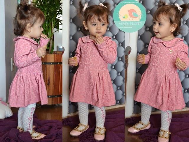 Moda infantil Renda
