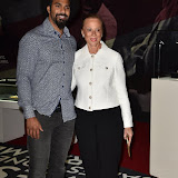 OIC - ENTSIMAGES.COM - David Haye and Lonnie Ali at the  I Am The Greatest - Muhammad Ali exhibition at The O2 London 3rd  March 2016 Photo Mobis Photos/OIC 0203 174 1069