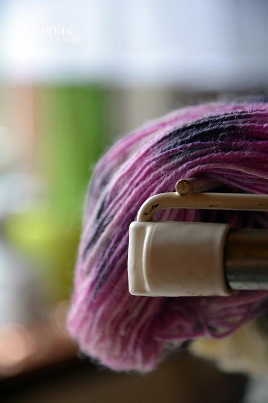 Glücksmomente...Wolle färben